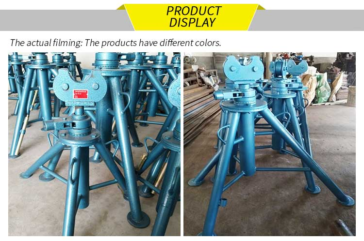 details of cable reel stand