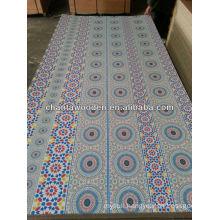 furniture and decoration melamine paper overlaid plywood