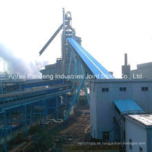 Cema / DIN / ASTM / Sha / Cema Trusted Gurtförderer / Abwärts Gurtförderer Anwendung in Stahlwerken