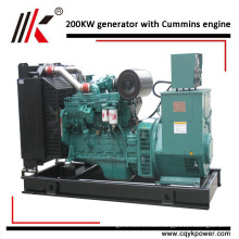 VOLVO PENTA 250KVA DIESEL GENERATOR SET FROM CHINA WITH MAGNETIC GENERATOR AND PETROL ENGINE