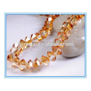 Venta al por mayor perlas mar cuerda platillo volador cuentas de vidrio