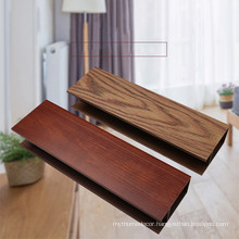 China Wood Plastic fence panels composite indoor WPC modern suspended pvc ceiling panel