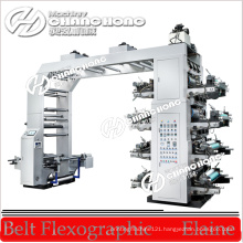 Letterpress 8 Color Film Flexography Printing Machine