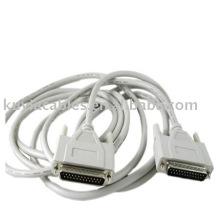 Параллельный кабель DB25 между мужчинами