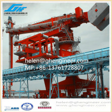 Vertical Screw Type Ship Unloader for cement handling and transmission