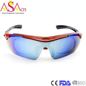 Модные сменные солнцезащитные очки для спортивного спорта Tr90 с внутренними оптическими рамами Xiamen