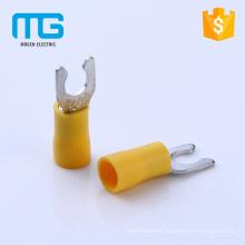 Best price copper wire range 0.5-6 insulated locking spade terminals