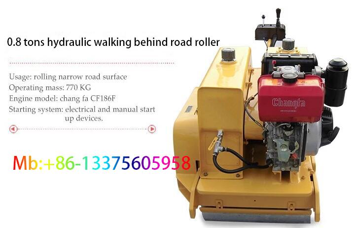 0 8 Ton Road Roller