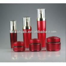 Runde Acryl Creme Jar kosmetischen Verpackungsglas