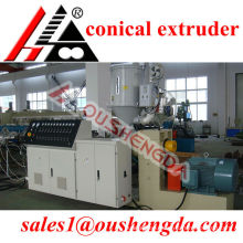 conical twin screw extruder for pvc pipe,UPVC pipe