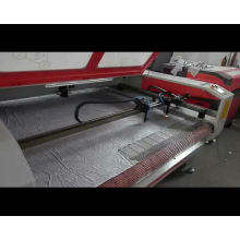 Máquina de corte por láser cnc de venta caliente 2018 y maquinaria láser para corte de tela