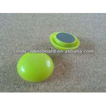 Пластиковая магнитная кнопка, пластиковый магнит с покрытием, круглая магнитная кнопка, аксессуары для доски, 30 мм XD-PJ202-2