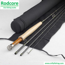 9ft6in 4PC 5wt Fast Action 40t Carbon Fly Rod