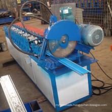 hebei xinnuo CE certificate carving roll up roller shutter door strip slat roll forming machine