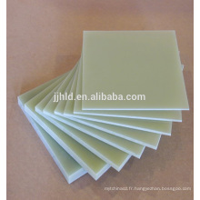 Fabrication offre une feuille de fibre de verre feuilleté