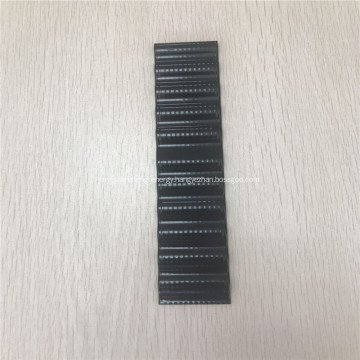 Black serpentine tube for cylindrical battery cells