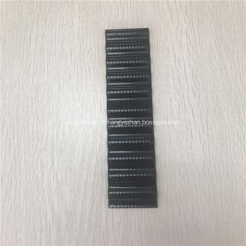 Tube serpentin noir pour cellules de batterie cylindriques