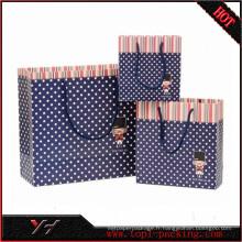 Yonghua haute qualité carton emballage mignon sac cadeau