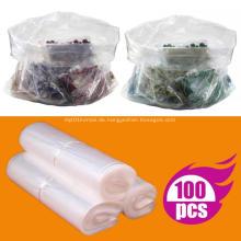 Kunststoff durchsichtige flache Polybeutel Open-Top-Verpackung