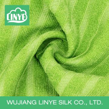 Зеленая окрашенная ткань, домашняя ткань, тикающая ткань для матраса