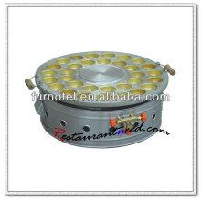 K405 Tabletop en acier inoxydable Egg Cake Maker