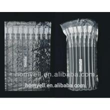 Compatible 8 column black toner cartridge air column bag,plastic air filling cushion bag packaging,inflatable plastic air bag