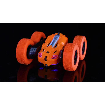 2.4Ghz Remote Control Car Toy 4WD RC Cars Stunt Car With Double Sided Rotating Vehicles 360 Flips