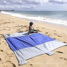 Wholesale Waterproof Outdoor Nylon Beach Blanket