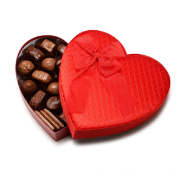 Lyxiga Matt Heart Chocolate Gift Packaging Boxes