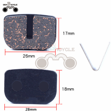 Bicycle Bike Cycling MTB Resin Disc Brake Pads