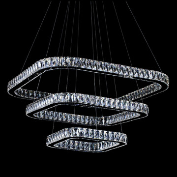 Cheap Modern LED Anel Lustre