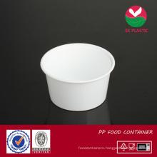 Round Plastic Food Container (sk-25 white)