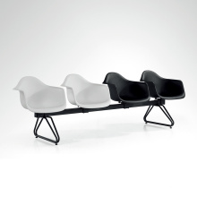 Plastic Type Link Chair for Public Waiting Area
