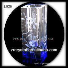 Vaso de cristal agradável L036