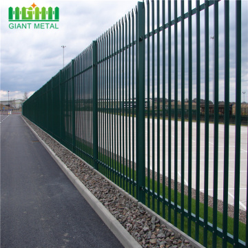 Colorful W Section Palisade Fence/ Steel Palisade fencing