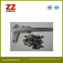 Zz Hardmetal Tungsten Carbide Saw Tips for Wood and Metal