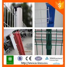 Anping fábrica 4x4 galvanizado quadrado metal cerca postes / cerca de suporte de montagem post