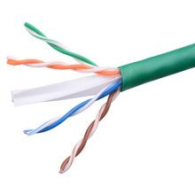 UTP CAT6 LSZH Cable Fluke Tested Soild Bare Copper Green