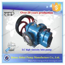 Factory!!!!!!!LC series high viscosity lobe pump for molasses