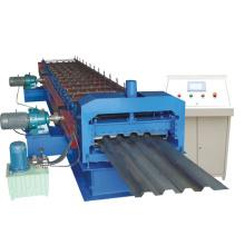 Máquina perfiladora de paneles de techo corrugado