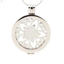 316L нержавеющая сталь медальон монета,мода стильный медальон ювелирные изделия