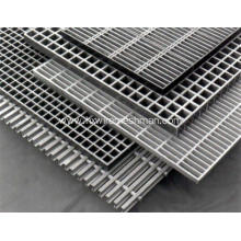 Hot dipped galvanized metal bar grating