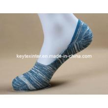 Chaussettes de cheville invisibles en coton pour femmes (WA203)