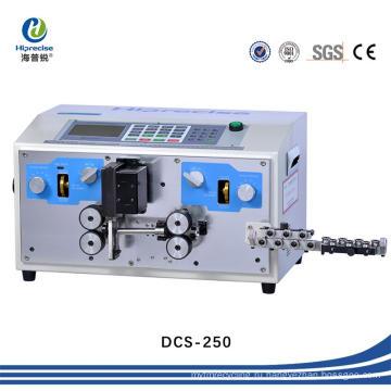 Электрический ПВХ цифровой кабель проволоки для резки и обнажения пилинг машина (DCS-250)