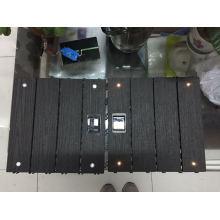 LED DIY WPC Decking Tile