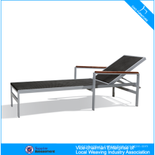 Outdoor Rattan Furniture Stackable Beach Chaise Lounge