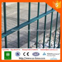 ISO9001 Clôture horizontale double en maille métallique \ 2D Double vis métallique horizontale
