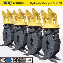 LIEBHERR VOLVO DOOSAN Excavator grapple, hydraulic grapple, rotating grapple, excavator grab