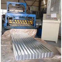 Máquina formadora de láminas de techo de pared