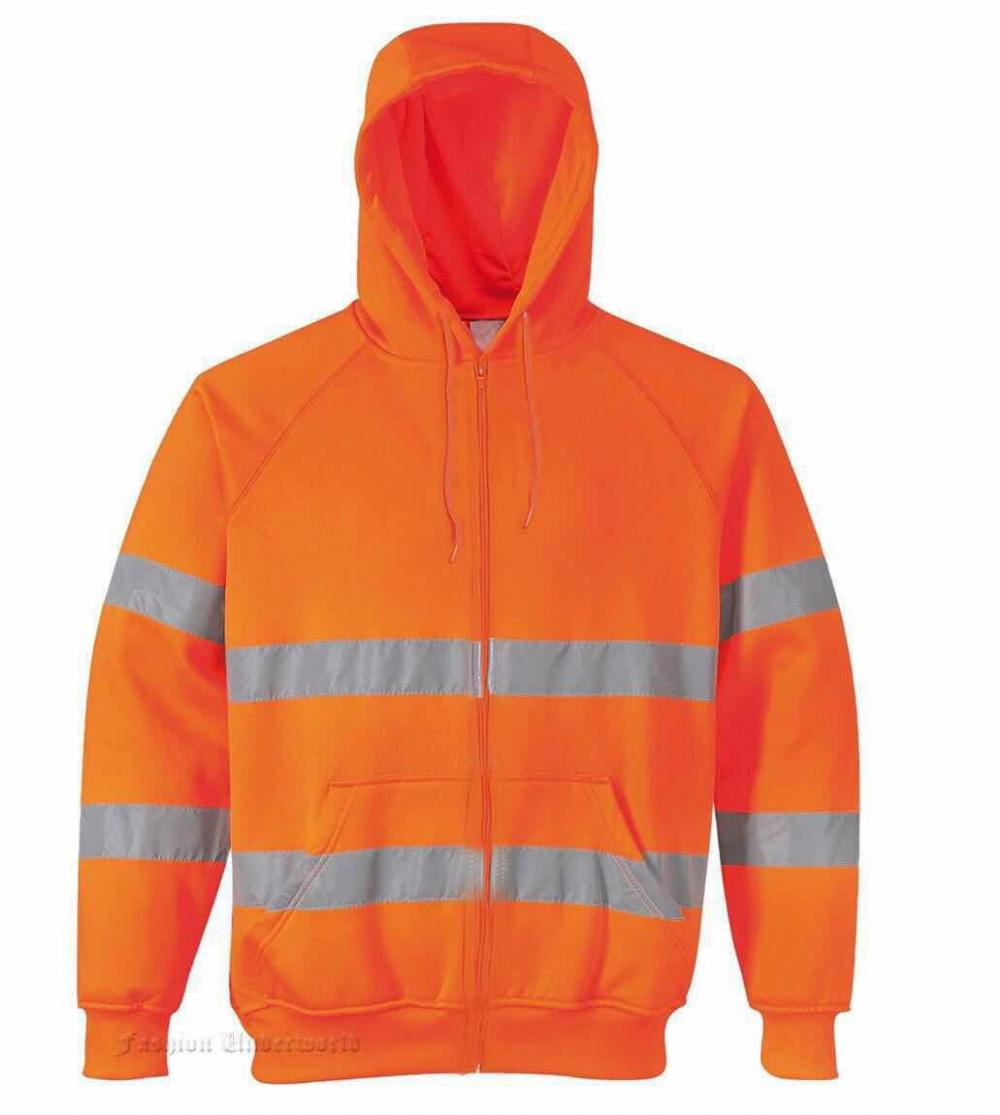 3m high visibility  reflective safety sweatshirt